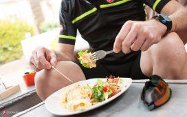 تغذیه قبل از دوچرخه سواری
