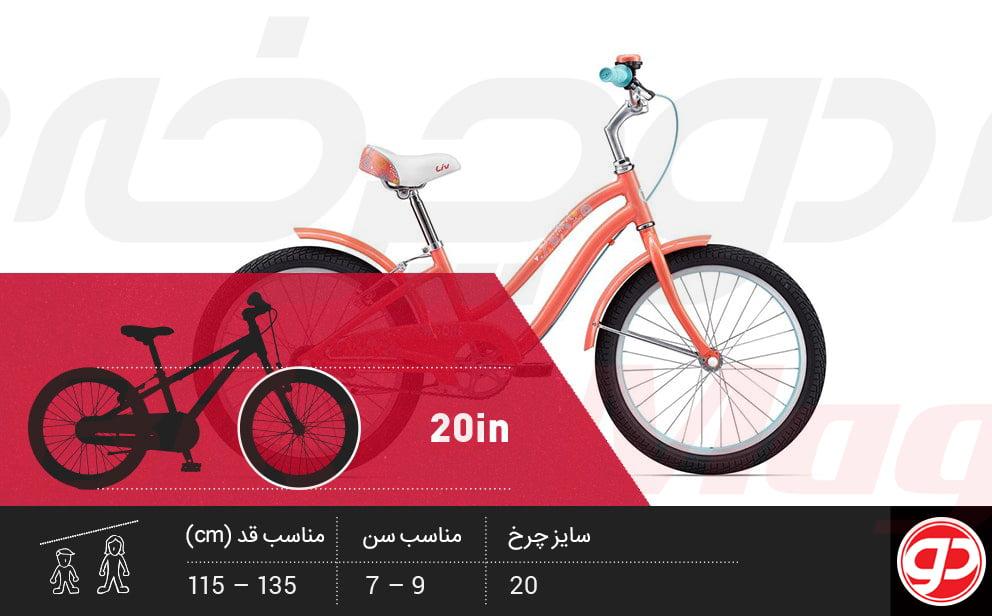 دوچرخه سایز 20 بچه گانه