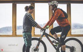 تنظیم سایز دوچرخه کوهستان