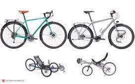 نمونه دوچرخه های سایکل توریست
