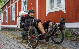 دوچرخه خابیده برای سفر با دوچرخه