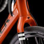 فاصله باز بین دوشاخ جلو و رام عقب دوچرخه سایکل کراس