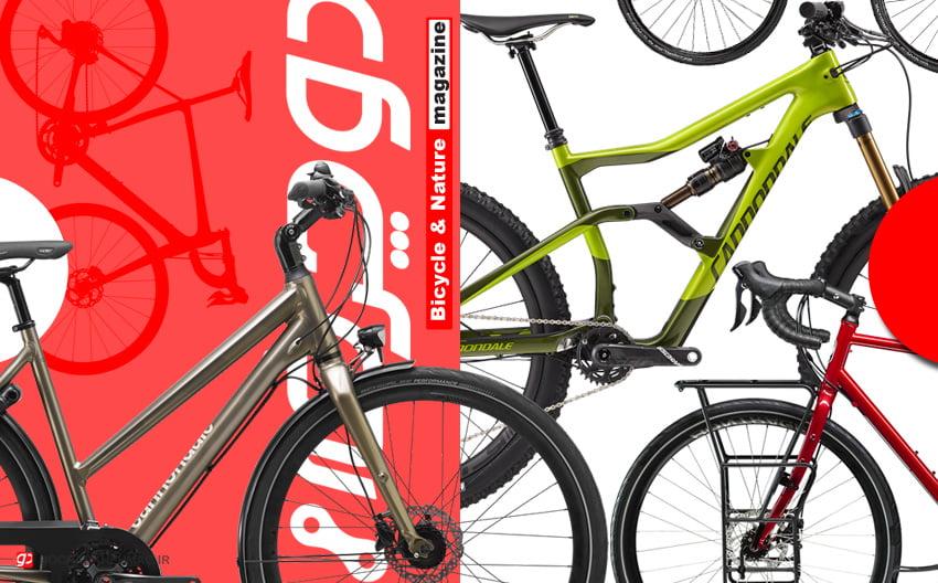 تصویر انواع دوچرخه. دوچرخه شهری. دوچرخه کوهستان. دوچرخه توریستی
