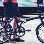 نمونه دوچرخه تاشو شرکت جاینت