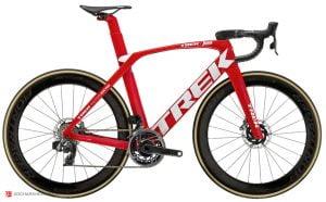 نمونه دوچرخه جاده (کورسی) رده حرفه ای طراحی شده برای مسابقات شرکت ترک