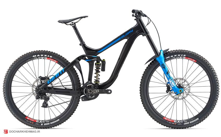 نمونه دوچرخه دانهیل شرکت جاینت