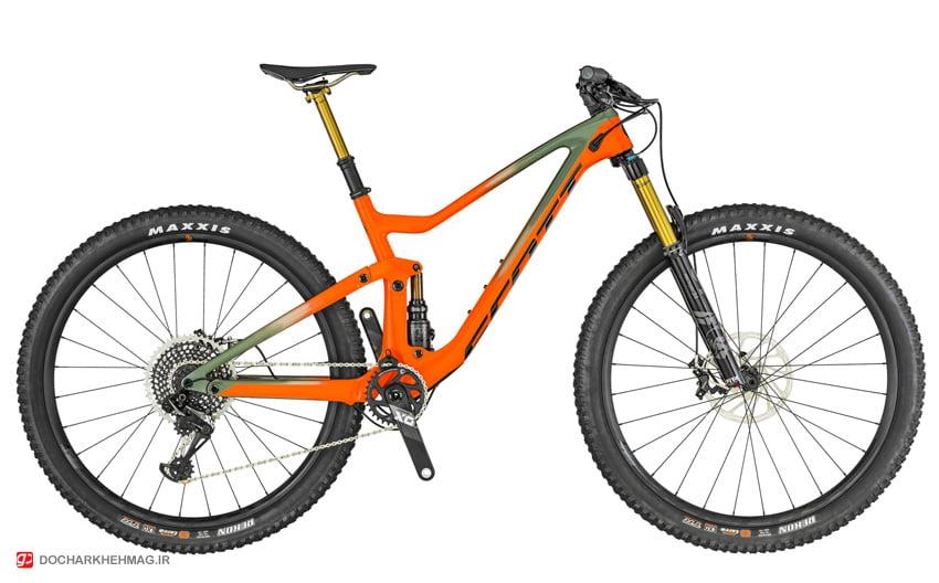 نمونه دوچرخه سبک تریل شرکت اسکات