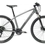 نمونه دوچرخه هیبریدی با گرایش به دوچرخه کوهستان با دوشاخ کمک دار