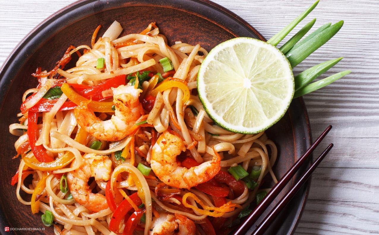 غذای تایلندی Pad Thai