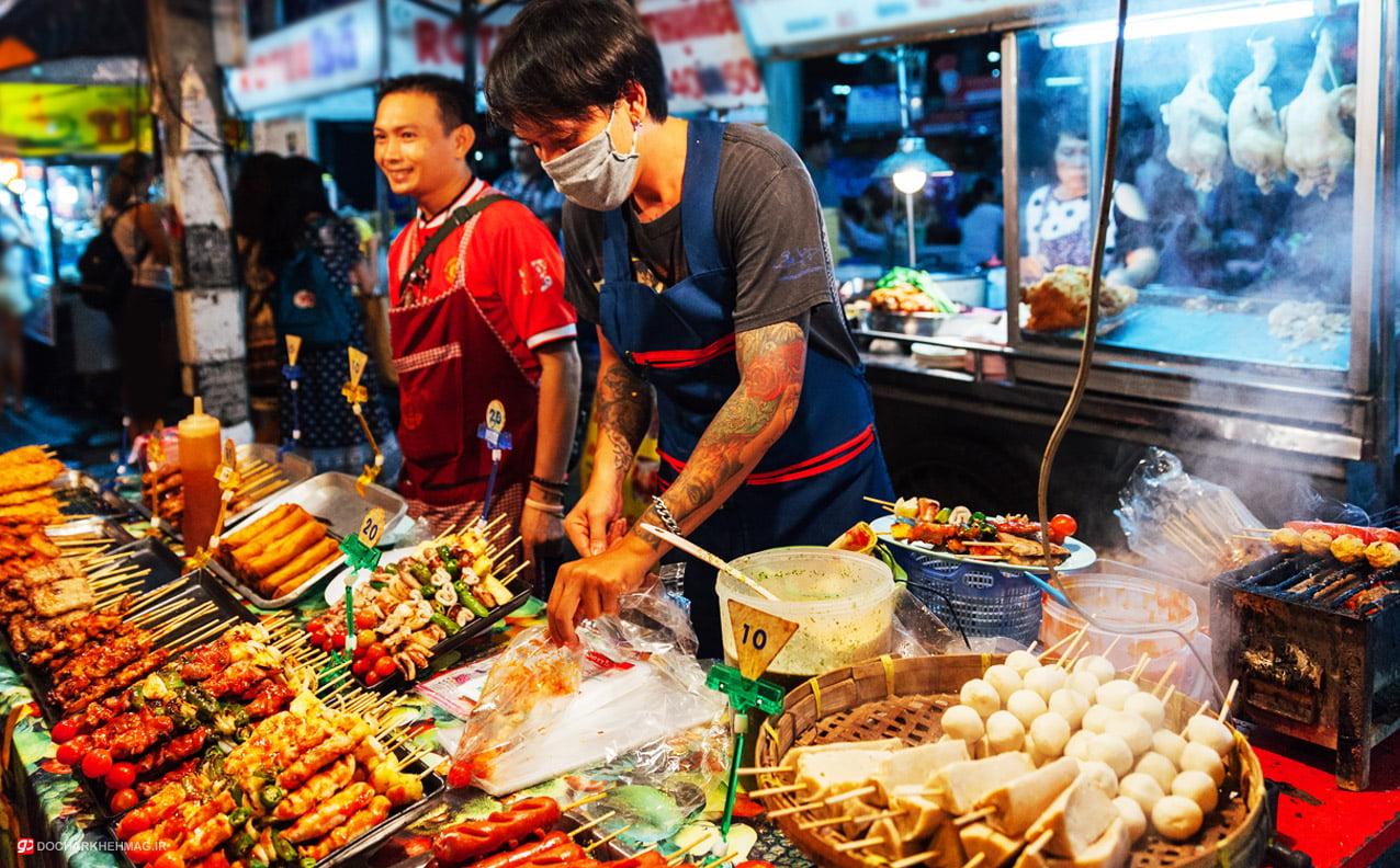 غذاهای خیابانی تایلند Thai Street Foods