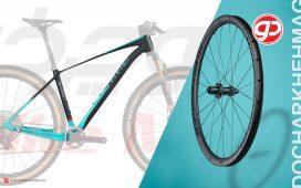 تصویر چرخ دوچرخه (Wheelset) بدنهی دوچرخه (Frame)