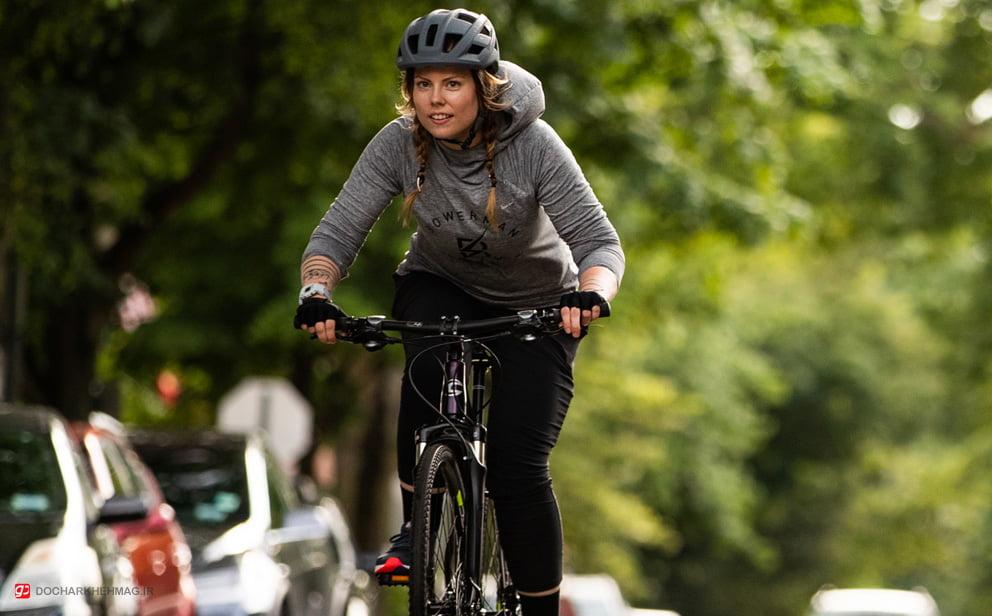 دوچرخه سواری در صبح