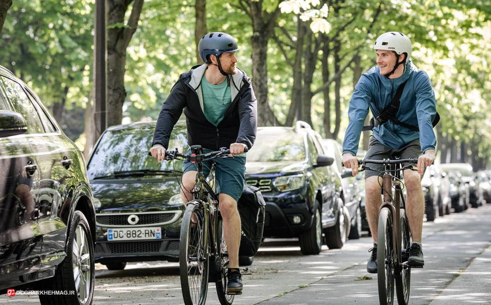 دوچرخه سواری در شهر