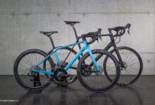 تصویر یک دوچرخه زنانه و یک دوچرخه مردانه